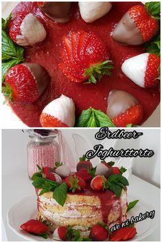 Erdbeer- Joghurttorte