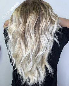 Balayage blond polaire cheveux long by #lesalonvagabond #blondpolaire #blondexpert #olaplex #coiffeurmontpellier #montpellier #blondcorrection #coupefemme #balayageblonde Down Hairstyles, Wedding Hairstyles, Shades Of Blonde, Wedding Hair Down, Mode Inspiration, Hair Color, Long Hair Styles, Balayage Blond, Beauty