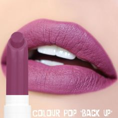 Colour Pop • 'Back Up' Matte X Lips #ColourPop