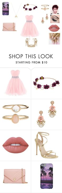 """My Outfit for Aunts Wedding"" by xxdamarisxxx ❤ liked on Polyvore featuring Accessorize, Mehron, Lime Crime, Carvela, Tory Burch and Chloé"