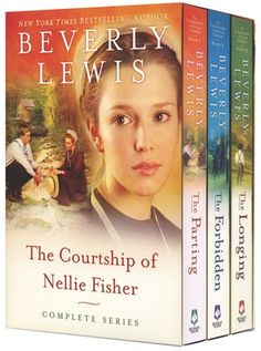 "The courtship of Nellie Fisher by Beverly Lewis.  After I finished the series, I wanted another...then I found ""October Song"" which adds a little more to the story."