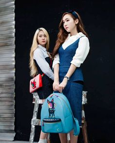 Jessica and f(x) Krystal - Lapalette S/S 2014