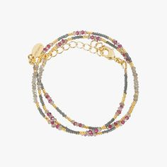Bracelet perles pastel - SOGOLI - Find this product on Bon Marché website - Le Bon Marché Rive Gauche