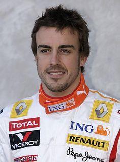 Formula 1 driver Fernando Alonso