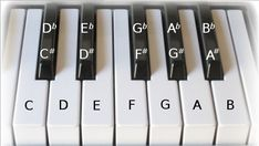 52 piano keys and notes keyboard - Bing Images