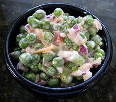 Sweet Pea Salad - I LOVE pea salad!