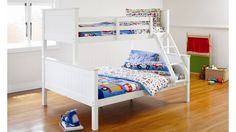 Selena Bunk Bed by Nero Furniture | Harvey Norman New Zealand $997