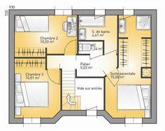 Great Plan Achat Maison Neuve à Construire   Maisons France Confort Eco Concept  90G | Plan Maison | Pinterest
