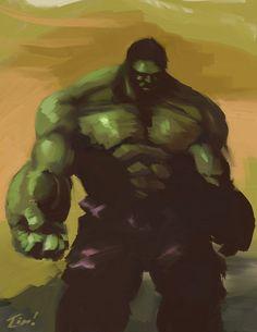 Hulk by *ninjaink on deviantART