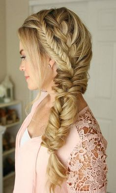 Fishtail Braid Hairstyles Captivating Fishtail Braids Hairstyles 12 …  My Favor…