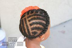 The All-Around Flat Rope Twist | Chocolate Hair / Vanilla Care