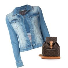 Jacket by nene-1890 on Polyvore featuring moda, Philipp Plein and Louis Vuitton