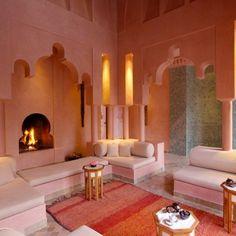 Marokkanische Schlafzimmer Deko Ideen - Blaue Wände | Schlafen ... Schlafzimmer Orientalisch Modern