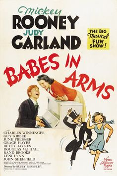 Mickey Rooney & Judy Garland - Babes in Arms, 1939