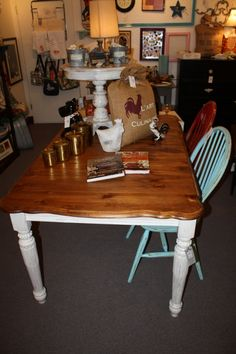 Vintage Farm Table.