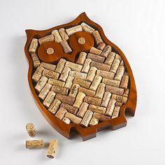 Wine Cork Owl