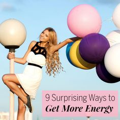 9 Suprising Ways to Get More Energy