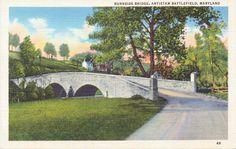 Antietam Battlefield Maryland Burnside by postcardsofthepast