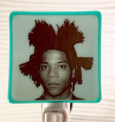 A personal favorite from my Etsy shop https://www.etsy.com/listing/524821301/jean-michel-basquiat-night-light-fused