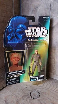"Star Wars, 4"" action Figure FREE SHIPPING, The power of the force, Collection3, Grand Moff Tarkin, Kenner, Hasbro, Lucasfilms, NIB, ast69705 by TreasurehunterCoShop on Etsy"