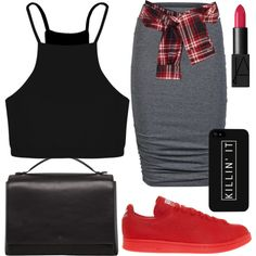 Untitled #623 by kgoldchains on Polyvore featuring moda, Boohoo, ONLY, David Szeto, Raf Simons, The Row, NARS Cosmetics, nice, beautiful and weekend
