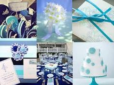 Image result for navy and aqua wedding colors