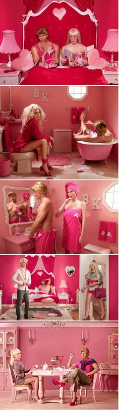 Barbie and Kens marriage in real life...funny and true shit!