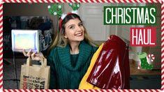 Τι πήρα για τα Χριστούγεννα | katerinaop22 Christmas Haul, Paper Shopping Bag, Youtubers, Reusable Tote Bags, Clothes For Women, Fashion, Outerwear Women, Moda, Fashion Styles