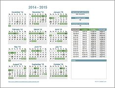 Academic Calendar Collection  There Are Free Options That You Can