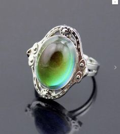 http://www.ebay.co.uk/itm/FREE-GIFT-BAG-Mood-Colour-Temp-Change-Silver-Tone-Vintage-Style-Adjustable-Ring-/152138207473 #moodring #colourchange #birthday #gift #jewellery #xmas #present #stockingfiller #silver #onlineshopping #ring