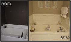 OH YES! #DIY #bathroom #makeover. I'm so excited I'm hashtagging all over the place.