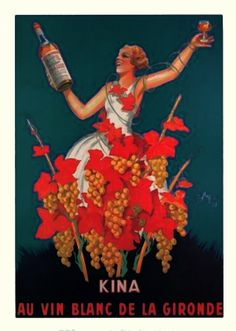 vintage posters + art | three different vintage advertising posters for champagne clip art for ...