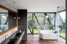 City and Country: Grass Roof Conceals Rio Vacation House | Projects | Interior Design