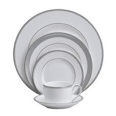 @emily ruth's pretty china-Grosgrain by Vera Wang for Wedgewood.
