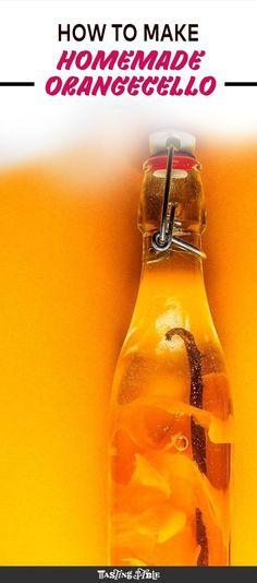 Make the most of winter citrus with this bright orange liqueur