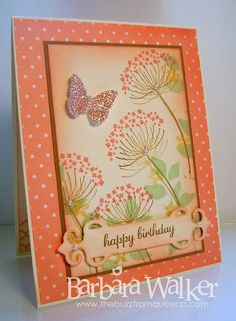 The Buzz: A Few Birthday Cards to Share, featuring products from Stampin' Up!
