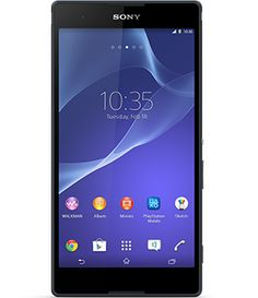 El Xperia T2 Ultra de Sony tiene pantalla HD de 6 pulgadas. Este es un teléfono inteligente Android creado para que te sumerjas en el entretenimiento.