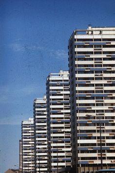 Berlin-Mitte, Leipziger Straße. Teilansicht der Hochhäuser | Bild: Danigel, Gerd (Fotograf) (1982) | Deutsche Fotothek