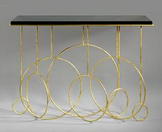 Hubert LE GALL - 'Sonate' Console Table by Hubert Le Gall