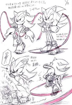 Lol sonic at the end XD