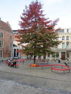 Place Quartier des Marolles Bruxelles Brussels