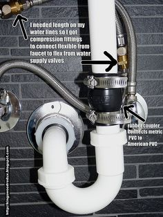 "IKEA sink plumbing ""hack"" 
