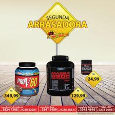 Mais Suplementos Arrasando toda segunda com super ofertas, venha conhecer nossas lojas e aproveitar!