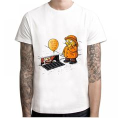 Cheap male t-shirt, Buy Quality it t-shirt directly from China t-shirt it Suppliers: 2017 IT movie T Shirt Men's stephen king printed High Quality clown Tops Tees fear halloween pennywise Custom male t-shirt Male T Shirt, Shirt Men, Bodybuilding T Shirts, Stephen King, Movie T Shirts, Fashion Brand, Womens Fashion, Urban Fashion, Film