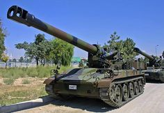 M110A2 203 mm Self-Propelled Howitzer (USA)