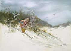 Google Image Result for http://www.picturethisgallery.com/Artists/Blish,%20Carolyn/Gathering%20Sea%20Oats.jpg
