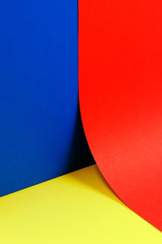 Primary Colors / Red Blue Yellow / Ricardo Ferrol — Grafische Arbeiten