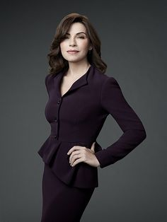 *The Good Wife (2009-Present) Alicia has been a good wife to her husband, a former state's attorney. After a very humiliating sex and corruption scandal, he is behind bars. She must now provide for her family and returns to work as a litigator in a law firm.