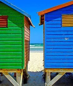Cape Town, South Africa Beach huts, how cute and colorful are these. South Africa Beach, Cape Town South Africa, Floating House, British Colonial, Once In A Lifetime, West Indies, Summer Colors, Belle Photo, Old Houses