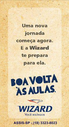 WIZARD ASSIS - Escola de Idiomas: VOLTA AS AULAS 2015